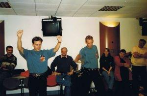 Chauffeur de Salle Disney Club sur TF1 présenté par Billy de 1997 à 1998, premières Chauffe de Salle